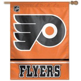 """NHL Philadelphia Flyers Vertical Flag, 27"""" x 37"""""""