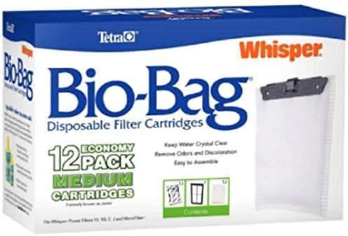Bio-Bag Filter Cartridges Medium,12-Pack, New!!!