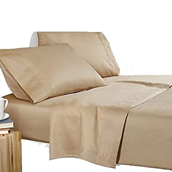 Amazoncom King Size Flat Sheet Only 600 Thread Count Egyptian