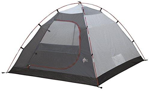 41XkoEcLaXL High Peak Kuppelzelt Nevada 3, Campingzelt mit Vorbau, Iglu-Zelt für 3 Personen, doppelwandig, wasserdicht…