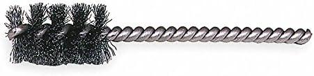 1-1//4 Power Spiral Brush 1 Brush 10 PK 3-1//2 Overall Length Round Shank
