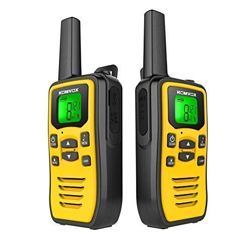 Professional Rechargeable Walkie Talkies Long Range for Adults Two Way Radios 22 Channels VOX Scan...