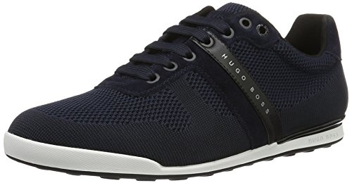 Boss Athleisure Herren Arkansas_lowp_syjq 10195466 01 Blau Low-top (blu Scuro 401)