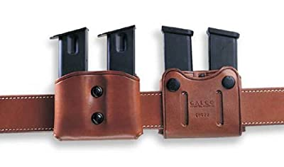 Galco DMC Double Mag Carrier for 9mm.40.357 Sig Staggered Metal and Polymer Magazines