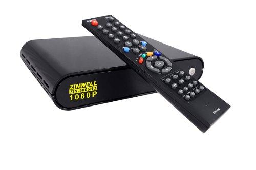 Zinwell ZIN-5005HD 'ZinTV' 3-in-1 Networking-Ready 1080p Full HD Multimedia Player/Streamer/Torrent Downloader