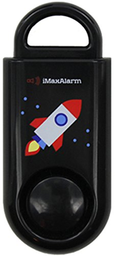 iMaxAlarm SOS Alert Personal Alarm - 130dB Alarm - Safety & Security Emergency Device - Rocket