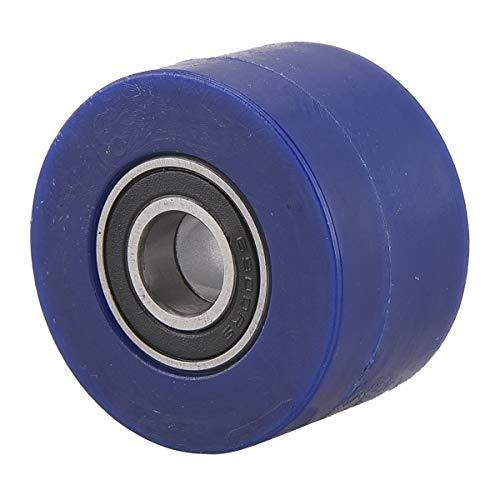 PRO CAKEN Chain Roller Pulley Slider Tensioner Wheel Guide for Pit Dirt Mini Bike 10mm (Blue)