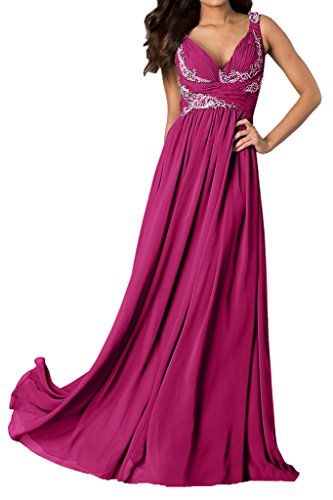 Ballkleid Fuchsie Ivydressing Linie Damen Festkleider V Ausschnitt A Traeger Abendkleider w1zFHq1Y