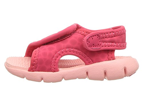 NIKE Sunray Adjust 4 (TD) Baby-Boys Slippers 386521-608_6C - Tropical Pink/Bleached Coral - Image 5