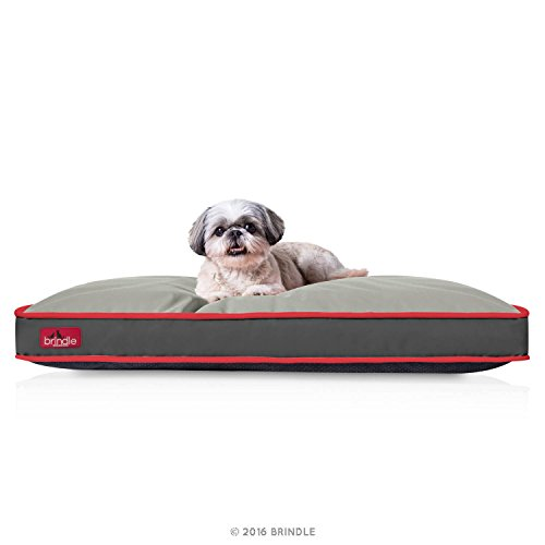 BRINDLE-Waterproof-Pet-Bed-Machine-Washable-Padded-Bed-for-Dogs-and-Cats-34-x-22-inches