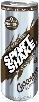 Sport Shake Chocolate Real Dairy Power Shake 8oz (Case of 12)