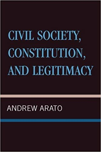 Book Civil Society, Constitution, and Legitimacy by Andrew Arato (2000-03-01)