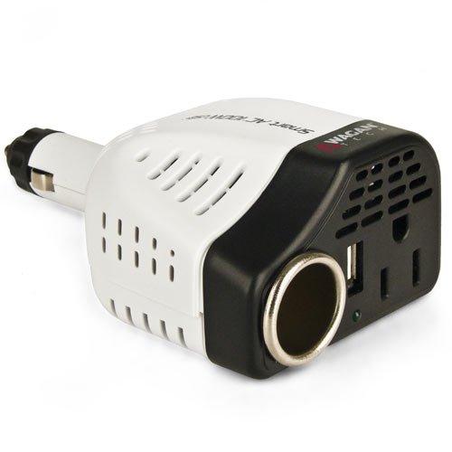 Smart AC DC/5V2.1 Amp 100W USB Power Inverter (100w Power Inverter)