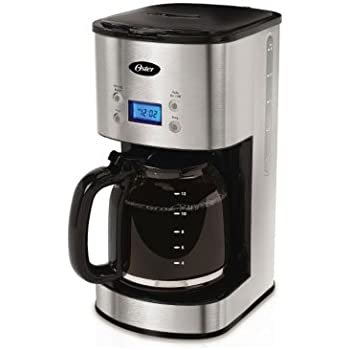 Oster Drip Coffee Maker : Amazon.com: Oster 12-Cup Programmable Coffee Maker BVST-JBXSS41 - Stainless Steel by Oster ...