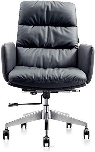 ZHANGYY Chaise de Bureau, Chaise pivotante de Loisirs en Cuir de Mode Chaise Avant de Classe Moderne Chaise d'ordinateur pivotant à 360 degrés réglable