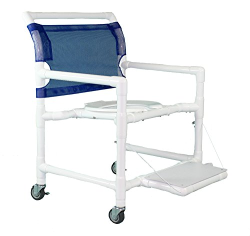 Care Products 550XWESLFF-RB Extra Wide Shower Chair with 24