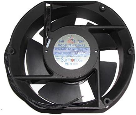 17 cm sj1725ha2 220 V – 240 V 50/60Hz 0,28 A 2 Cable AC ventilador ...
