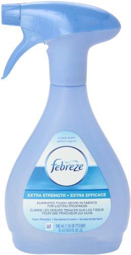 Febreze  Air Freshener, Extra Strength Fabric Refresher Air Freshener,  16.9-Ounce