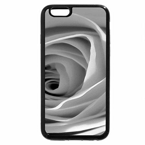 iPhone 6S Plus Case, iPhone 6 Plus Case (Black & White) - Deep Lavender