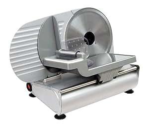 RGV AUSONIA 220 rebanadora - Cortafiambres (230V, 50 Hz, Aluminio, Plata, 26 cm, 40 cm)