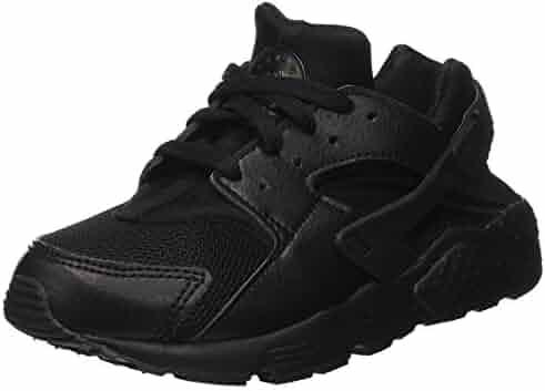 aa8f8fccb65d Nike Huarache Run Black Black-Black (Little Kid) (12 M US