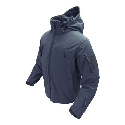 - Condor Summit Soft Shell Tactical Jacket, Color Navy Blue, Size XL
