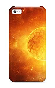 Iphone Faddish Yellow Sci Fi Case Cover For Iphone 5c