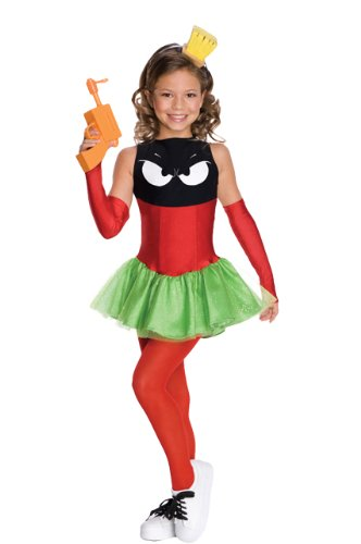 Marvin the Martian Child's Costume - One Color - (Marvin Costume)