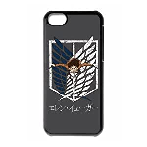 Classic theme pattern ATTACK ON TITAN for iPhone 5C Phone Case KCCTAOT962410