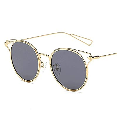 FeliciaJuan Vintage Polarized Sunglasses for Women&Men 100% UV Protection Surround Sunglasses