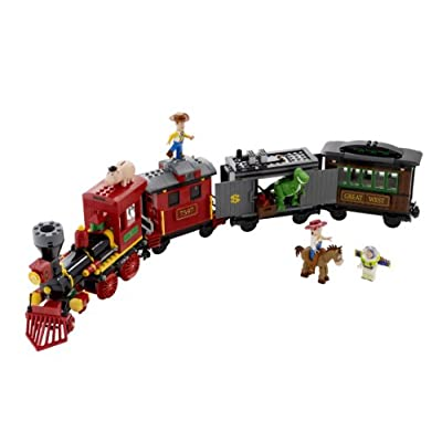 LEGO Toy Story Western Train Chase (7597): Toys & Games