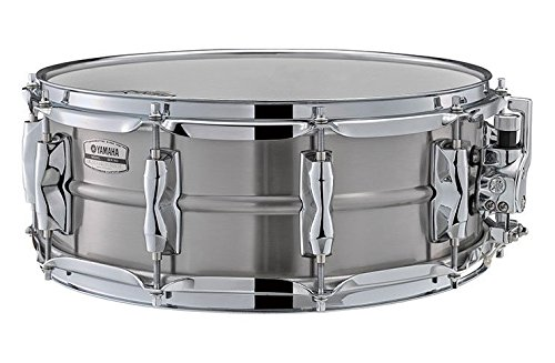 (Yamaha Recording Custom 14x5.5 Stainless Steel Snare Drum)