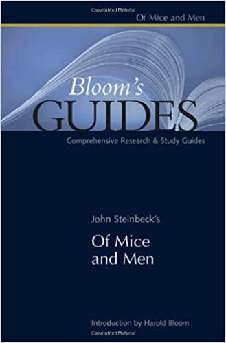 Amazon of mice and men blooms guides blooms guides of mice and men blooms guides blooms guides hardcover fandeluxe Choice Image