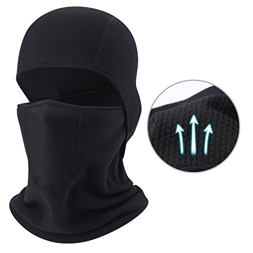 QINGLONGLIN Balaclava - Windproof Mask Adjustable Face Head Warmer for Skiing, Cycling, Motorcycle Outdoor Sports