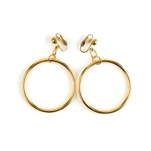 Pirate Gold Earrings (Costume Pirate Earrings)