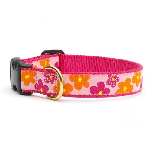Up Country Flower Power Dog Collar XL
