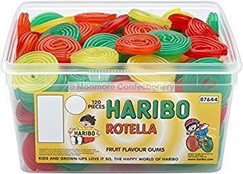 Haribo Rotella - 960g - Approx 120 ()