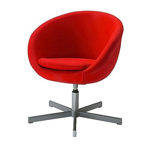 Drehsessel ikea  IKEA SKRUVSTA -Drehsessel Almas rot: Amazon.de: Küche & Haushalt