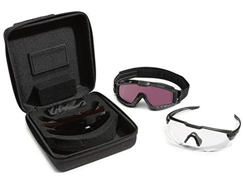 Oakley Si Ballistic M-Frame Alpha Operator Kitchen- Square Case - Frame Alpha