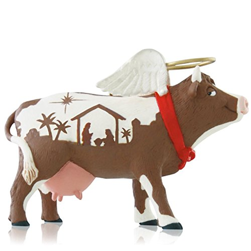 1 X Holy Cow - 2014 Hallmark Keepsake Ornament -