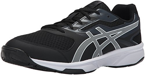 Asics Heren Upcourt 2 Volleybalschoen Zwart / Wit / Fantoom