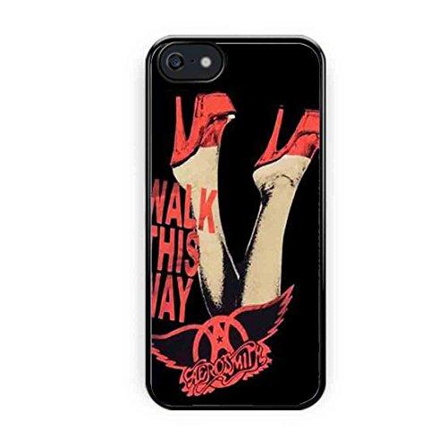 Cooliphone4Cases.com-2567-Aerosmith Walk This Way iPhone 5 Case, iPhone 5s Case-B01LXXJO3J-T Shirt Design