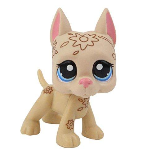 Cocker Spaniel Dachshund - Vibola Rare Pet Shop Action Figure Toys Fun Toys for Children, Birthday Party Favors, Classroom Educational Animal Figures