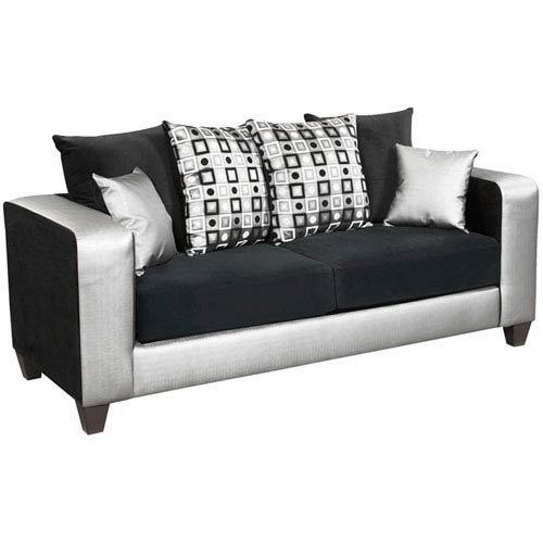 Price comparison product image Parkside Lauren Series Black Velvet Sofa