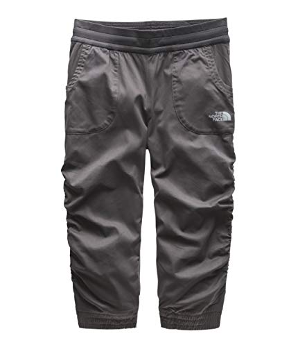 The North Face Kids Girl's Aphrodite Capri Pants (Little Kids/Big Kids) Graphite Grey Large ()