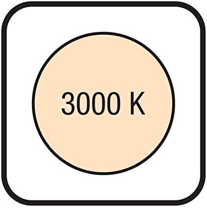 Wofi Pendelleuchte Viso, 55 W, 4100 lm, Warmweiß (3000 Kelvin), 3-Stufen dimmbar über Wandschalter, Nickel matt, 7531.04.64.8000