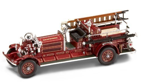 Yat Ming Scale 1:43 - 1925 Ahrens-Fox N-S-4 Fire Engine by Yat Ming