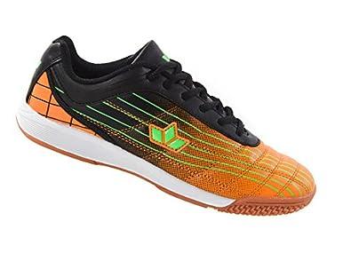 Lico Rockfield Sneaker Freizeit Hallenschuh Indoor TPR-Sohle schwarz orange