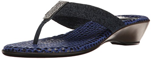 Love & Liberty Women's Summer-Ll Dress Sandal, Navy, 8 M US by Love & Liberty