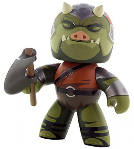 Hasbro Star Wars Mighty Muggs 2009 Wave 2 Gamorrean Guard Vinyl Figure